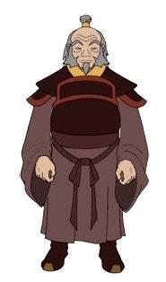 Visuel Iroh - Nom original:  (Avatar - le dernier maître de l'air)