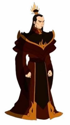 Visuel Ozai - Nom original: Ozai (Avatar - le dernier maître de l'air)