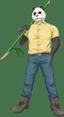 Visuel Gohin - Nom original: Gohin (ゴウヒン) (Beastars)