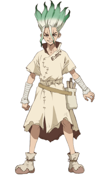 Visuel Ishigami Senku - Nom original: Ishigami Senku (石神 千空) ()