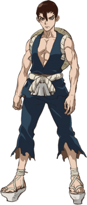 Visuel Kinro - Nom original: Kinrō (金狼) ()