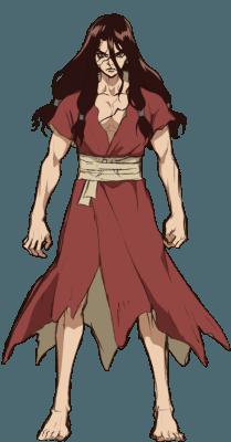 Visuel Shishiō Tsukasa - Nom original: Shishiō Tsukasa (獅子王 司) ()