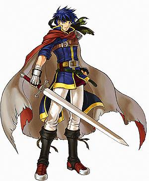 Visuel Ike - Nom original:  (Fire Emblem, Super Smash Bros.)