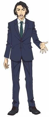 Visuel Ozaki Seiji (Oz) - Nom original: Ozaki Seiji (尾崎誠司) (Great Pretender)