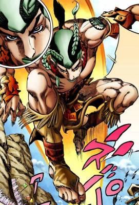 Visuel Sandman - Nom original: Sandman (サンドマン) (JoJo's Bizarre Adventure)