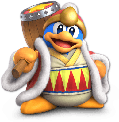 Visuel Roi DaDiDou - Nom original: デデデ大王(King Dedede) (Kirby, Super Smash Bros.)