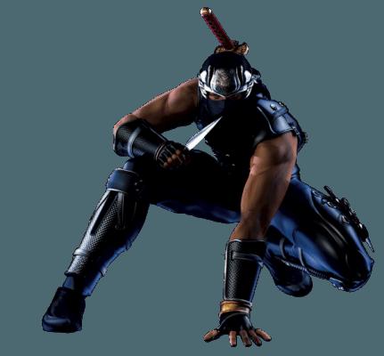 Visuel Hayabusa Ryu - Nom original: Hayabusa Ryu (リュウ・ハヤブサ) (Ninja Gaiden, Dead or Alive (jeux vidéo))