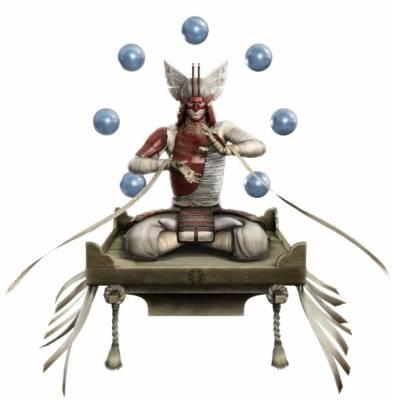 Visuel Ôtani Yoshitsugu - Nom original: Ôtani Yoshitsugu (Devil King / Sengoku Basara)