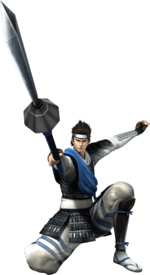 Visuel Utsunomiya Hirotsuna - Nom original: Utsunomiya Hirotsuna (Devil King / Sengoku Basara)