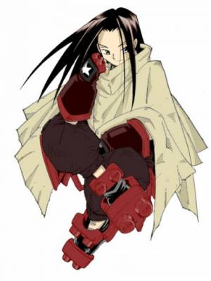 Visuel Hao Asakura - Nom original: Hao Asakura (Shaman King)
