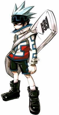 Visuel Horo Horo - Nom original: Usui Horokeu (碓氷ホロケウ)/Horohoro (ホロホロ) (Shaman King)