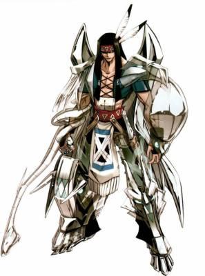 Visuel Silva - Nom original: Silva (シルバ ) (Shaman King)