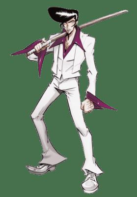 Visuel Umemiya Ryūnosuke - Nom original: Umemiya Ryūnosuke (梅宮 竜之介) (Shaman King)