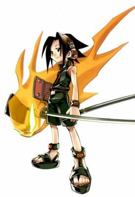 Visuel Yoh Asakura - Nom original: Yoh Asakura (Shaman King)