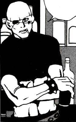 Visuel Le Barman - Nom original: ? (Togainu no chi)