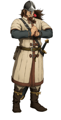 Visuel Bjorn - Nom original: Bjorn (ビョルン) (Vinland Saga)