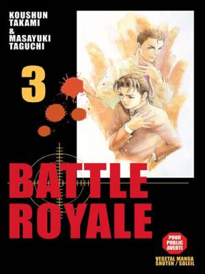 Visuel Battle Royale tome 3