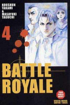 Visuel Battle Royale tome 4