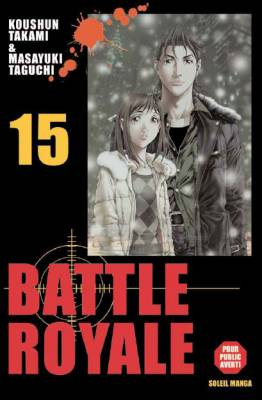 Visuel Battle Royale tome 15