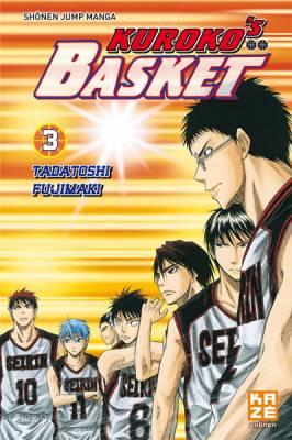 Visuel Kuroko's Basket tome 3