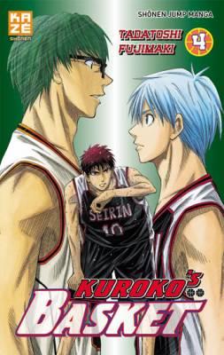 Visuel Kuroko's Basket tome 4