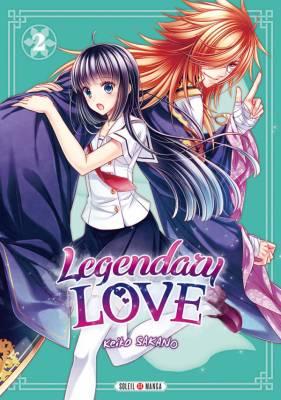 Visuel Legendary Love tome 2