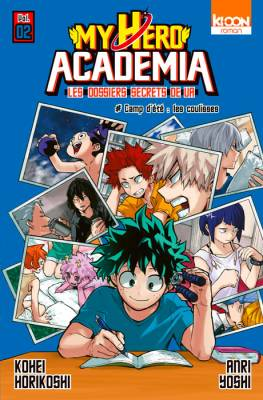 Visuel My Hero Academia – Les dossiers secrets de UA tome 2