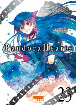 Visuel Pandora Hearts tome 23