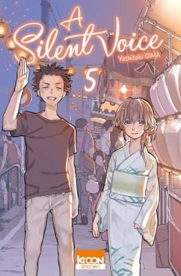 Visuel Silent Voice (A) tome 5