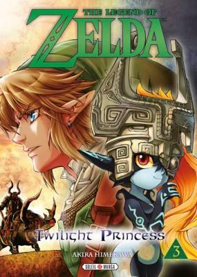 Visuel Zelda (the Legend of) - Twilight Princess tome 3