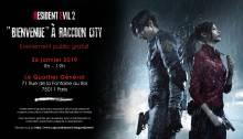 Visuel Journée zombiesque pour la sortie du remake de Resident Evil 2!