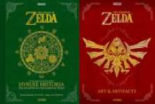 Visuel The Legend of Zelda: Hyrule Historia et Art and Artifacts