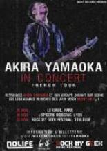 Visuel Akira Yamaoka en France