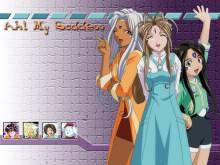 Wallpaper/fond d'écran Ah! My Goddess TV / Aa Megumi-sama (Animes)