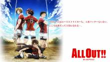 Wallpaper/fond d'écran All Out!! / All Out!! (Animes)
