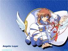 Wallpaper/fond d'écran Angelic layer - Poupée de combat / Kidô Tenshi Angelic Layer (Animes)