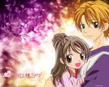 Wallpaper/fond d'écran Babe, My Love / Aishiteruze baby (Animes)