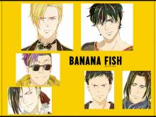 Wallpaper/fond d'écran Banana Fish / Banana Fish (バナナフィッシュ) (Animes)