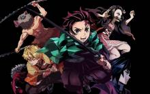 Wallpaper/fond d'écran Demon Slayer: Kimetsu no Yaiba / Kimetsu no Yaiba (鬼滅の刃) (Animes)