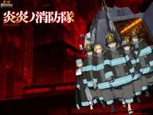Wallpaper/fond d'écran Fire Force / Enn Enn no Shōbōtai (炎炎ノ消防隊) (Animes)