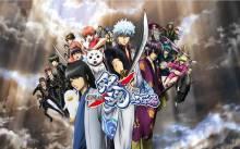Wallpaper/fond d'écran Gintama / Gintama (銀魂) (Animes)