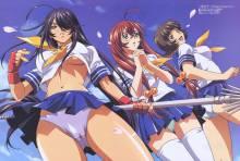 Wallpaper/fond d'écran Ikki Tousen / Ikkitousen (Animes)