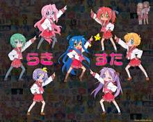 Wallpaper/fond d'écran Lucky Star / Lucky Star (Animes)