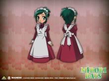 Wallpaper/fond d'écran Midori Days / Midori no Hibi (Animes)