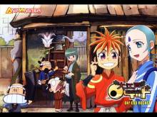 Wallpaper/fond d'écran Oh! Edo rocket / Ooedo rocket (Animes)
