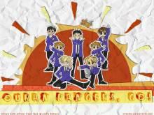 Wallpaper/fond d'écran Host Club Ouran High School / Ouran Koukou Host Club (Animes)