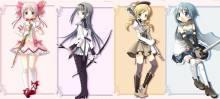 Wallpaper/fond d'écran Puella Magi Madoka Magica / Mahou Shoujo Madoka Magika (Animes)