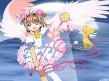 Wallpaper/fond d'écran Sakura, chasseuse de cartes / Card Captor Sakura (Animes)