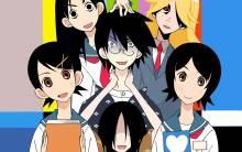 Wallpaper/fond d'écran Sayonara Zetsubou-sensei / Sayonara Zetsubou-sensei (Animes)