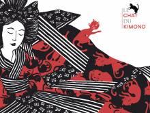 Wallpaper/fond d'écran Chat du kimono (Le) /  (Émules)